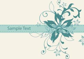Vintage-floral-vector-background