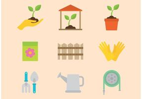 Gardening Vector Icons