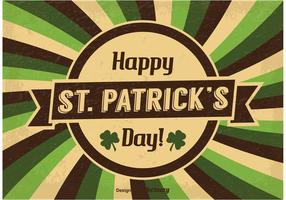 Illustration vintage de Saint Patrick