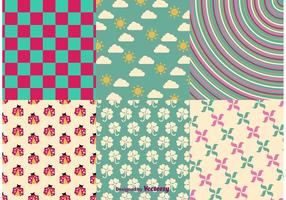 Spring and Summer Vector Patterns