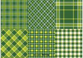 St. Patrick's Day Vector Textile Patterns
