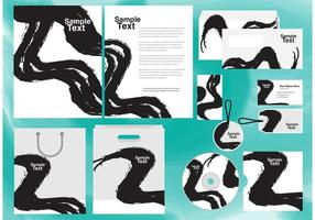Corporate Chinese Calligraphy Template