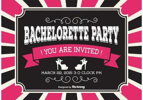 Bachelorette party invitaion