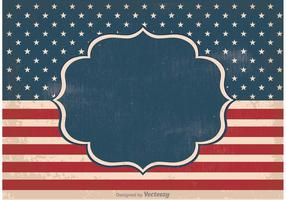Old Vintage Independence Day Background vector