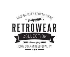 Retro Vintage Insignia Mall