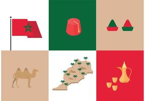 Morocco Culture Vectors