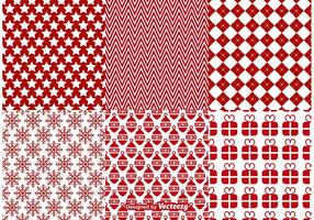 Christmas Vector Patterns Backgrounds