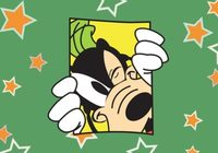 Goofy Disney Vector Card