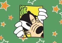 Goofy Disney Vector Card