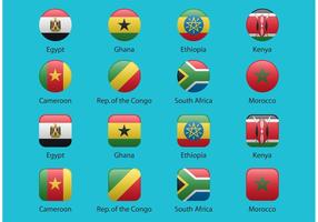 African-vector-flags