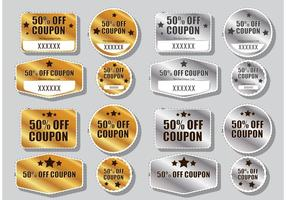 Discount Coupon Vectors