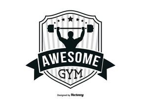 Gym logo sjabloon