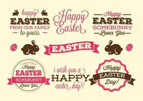 Étiquettes de Pâques