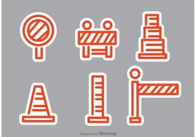 Oranje Road Traffic Vectors
