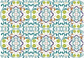 Vector Floral Pattern Vackground