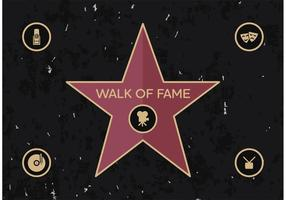 Walk Of Fame Vector Gratis