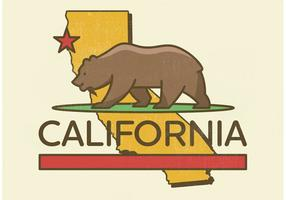 California Bear Vector Design