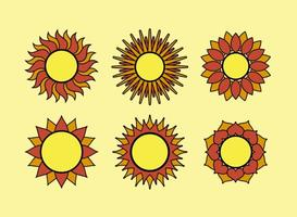 Geometric-sun-vectors