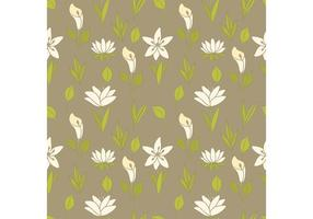 Free Lily Pattern Vector