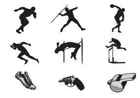Vectores libres de atletismo