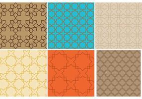 Marokko Muster Vektoren