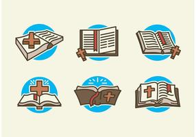 Open bible vector gratis