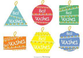 Best Wishes Vectors