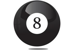 Magic 8 Ball Vector