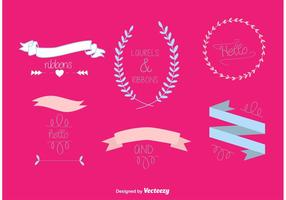 Hand Drawn Wedding Vector Graphics