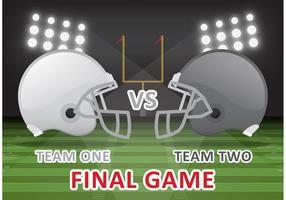 Fotboll Final Game Vector