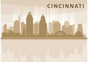 Cincinnati Horizon Vector