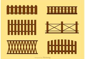 Enkel Picket Fence Vectors
