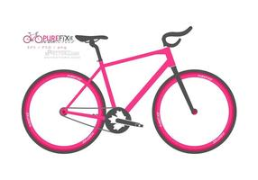 Pure Fixie - IconiCycle Free Bike Vector