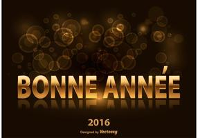 Bonne Annee Illustration vector