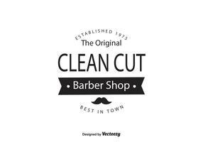 Barber Shop Logo Vorlage