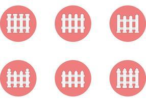 Free Vector Flat Styled Zaun Icons