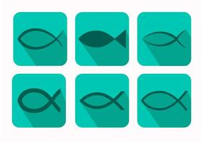 Christian Fish Symbol Vectors