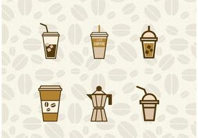 Iced Coffee Vectores
