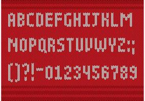 Yarn Font Type Vectors