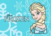 Elsa Frozen Vector And Coloring Design Free