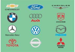 Vectores del logotipo del coche