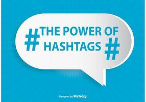 Hashtag Illustration