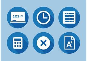 Elementos do vetor de tabela de matemática