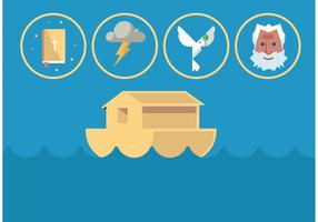 Noah Ark Vector Set
