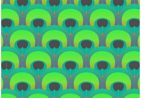 Peacock Pattern Vector