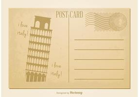 Postal del estilo del vintage