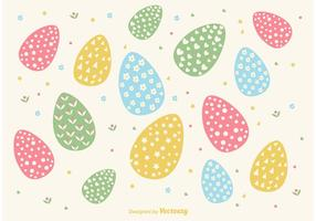Hand-drawn-easter-egg-background-vector