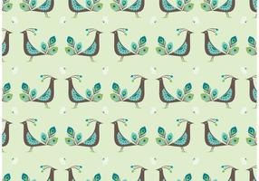 Libre Peacock Vector Seamless Pattern
