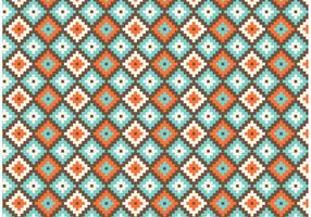 Native American Geometric Seamless Vector Pattern
