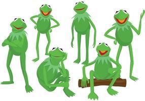 Kermit los vectores de la rana